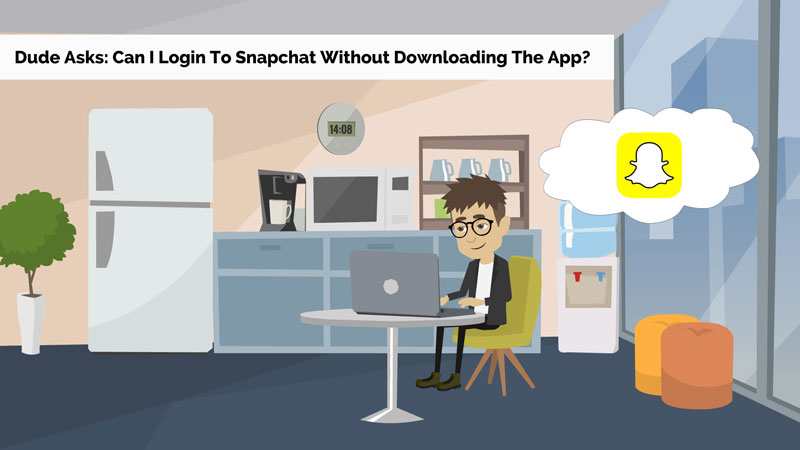 Can I Login To Snapchat Without Downloading The App?