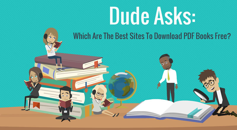 Which Are The Best Sites To Download PDF Books Free