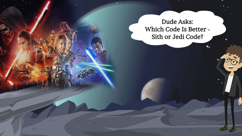 Which Code Is Better? The Sith Code Or Jedi Code?