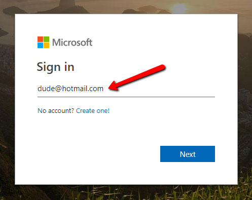 hotmail login2