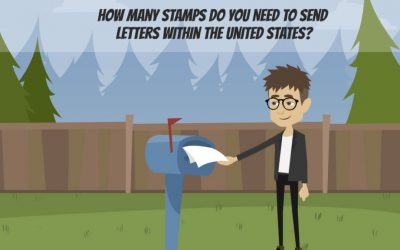 How Many Stamps Do You Need To Send Letters Within The United States?